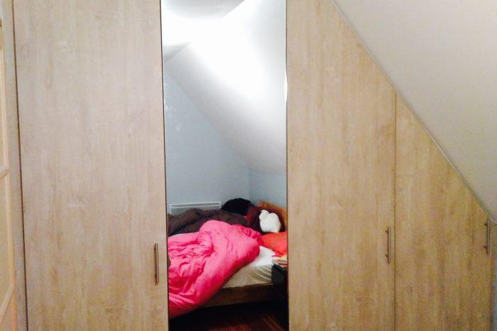 sous pentes kiosque am nagement. Black Bedroom Furniture Sets. Home Design Ideas