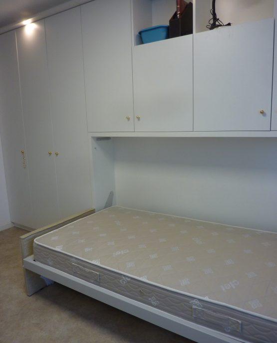 rangements sur mesure avec lit escamotable 1 personne