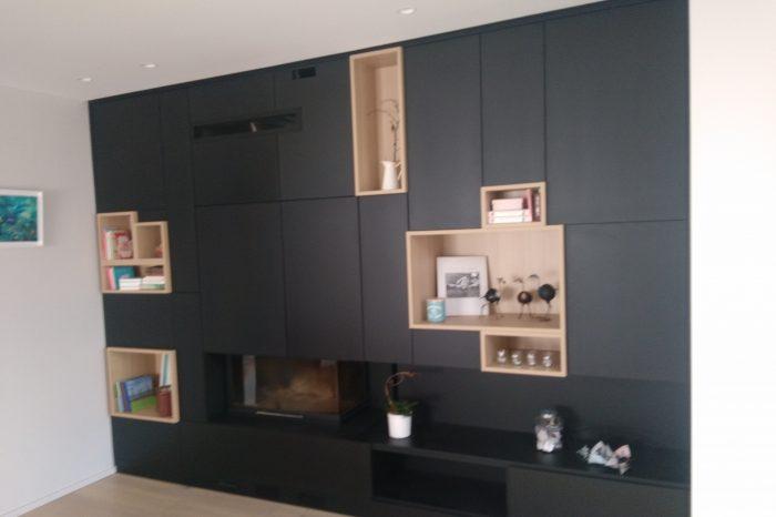 meubles sur mesure kiosque am nagement. Black Bedroom Furniture Sets. Home Design Ideas