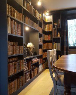 Bibliothèque design sur mesure a bondues