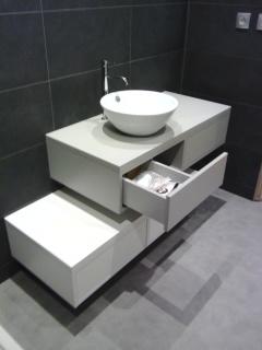 Meuble salle de bain sous vasque sur mesure