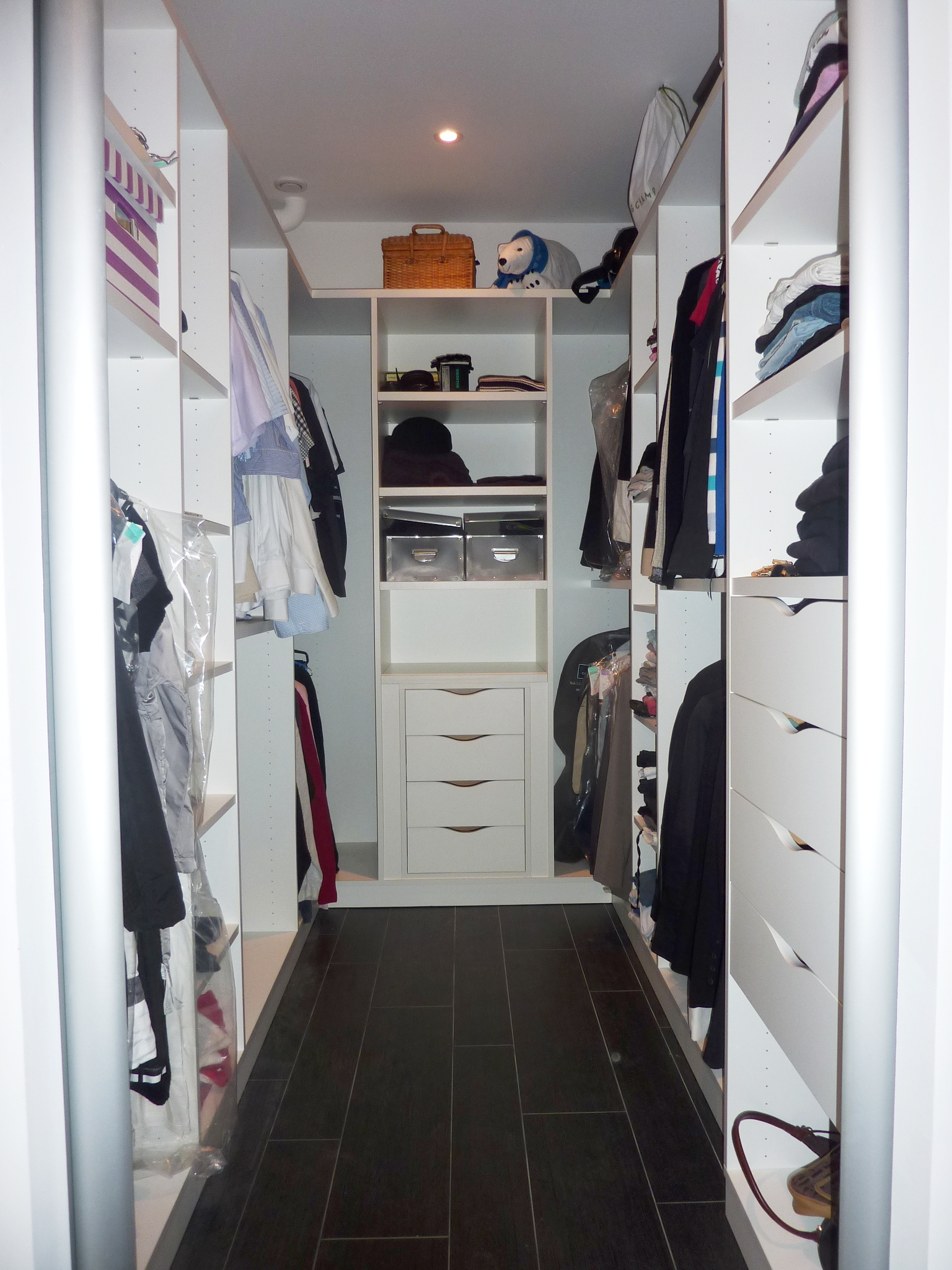 Dressing sur mesure en u le kiosque amenagement - Photo dressing ...
