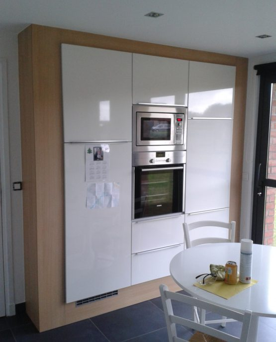 cuisine murale encastrement de meubles de cuisine sur mesure