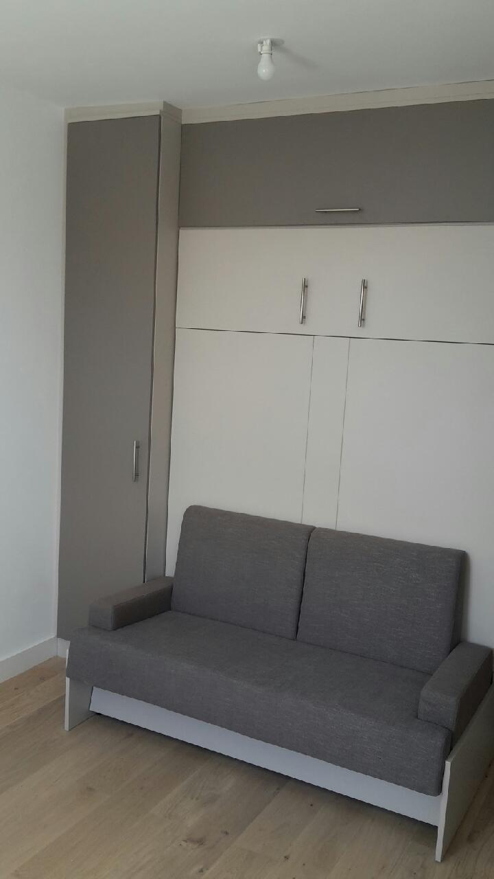 lit escamotable 2 personnes avec banquette lille. Black Bedroom Furniture Sets. Home Design Ideas