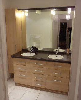 agencement de salle de bains