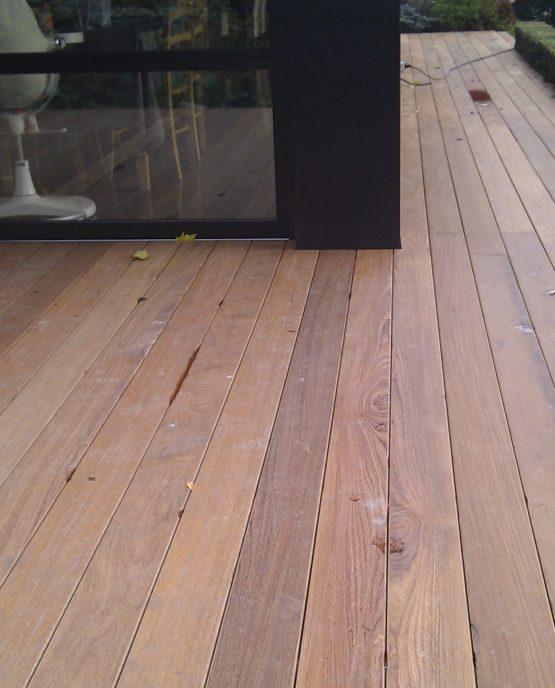 remplacement terrasse ipé a Croix