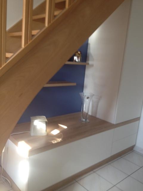 Placard Sous escalier sur mesure à Toufflers