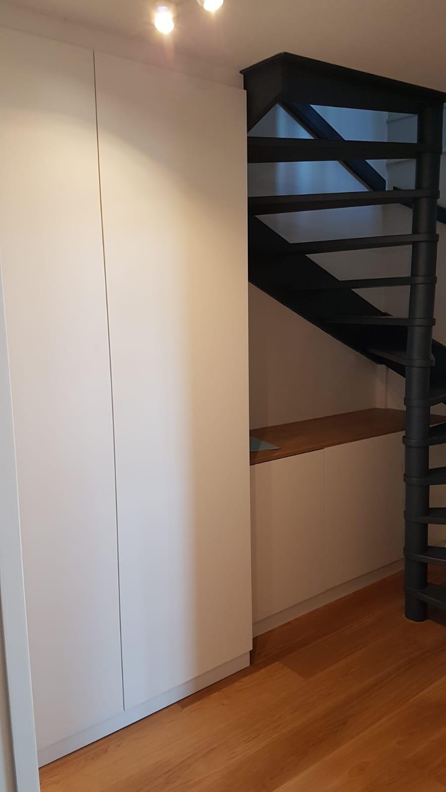 Coffre De Rangement Sous Pente aménagement sous escalier avec banquette - kiosque aménagement