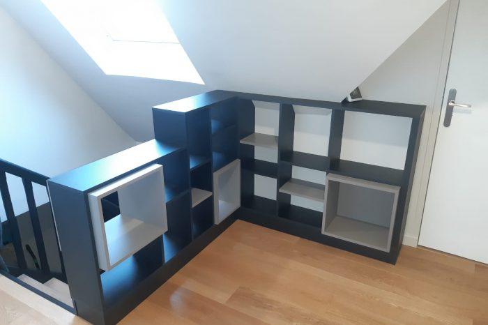 meuble séparation de pièce et garde-corps