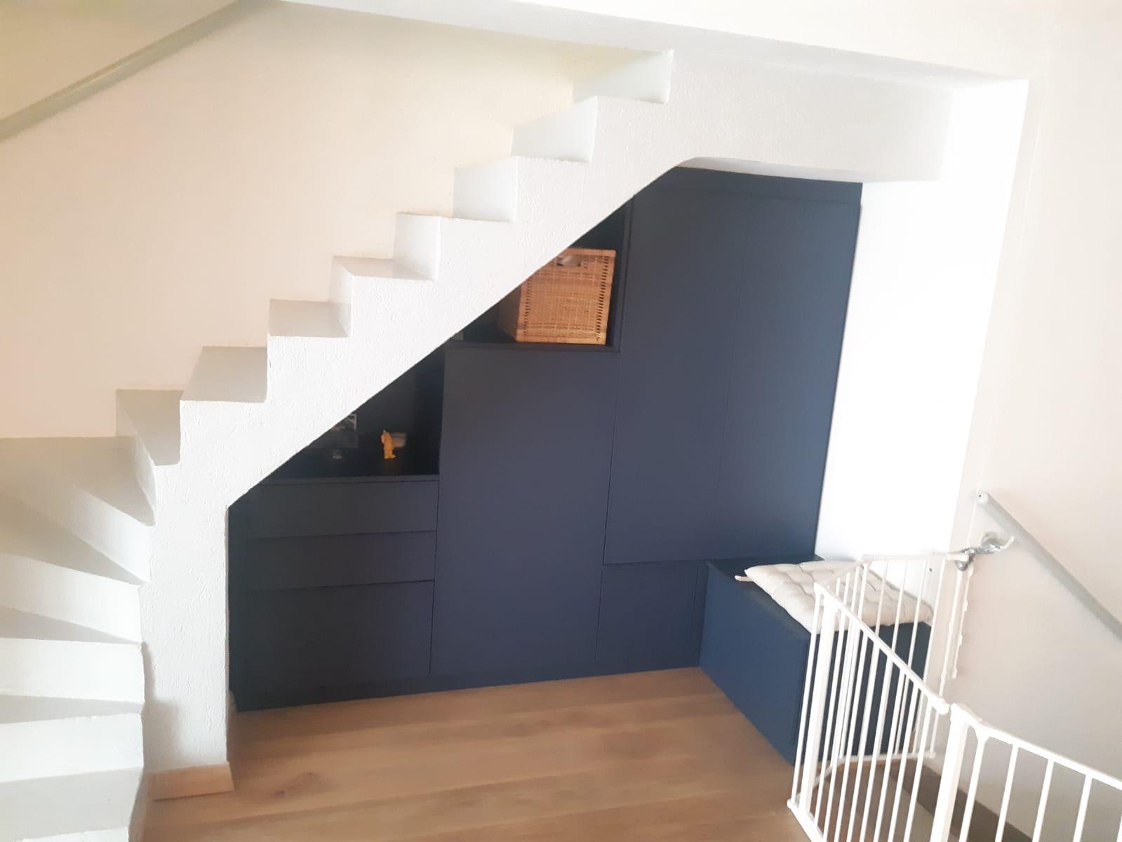 Aménagement sous escalier à Lille