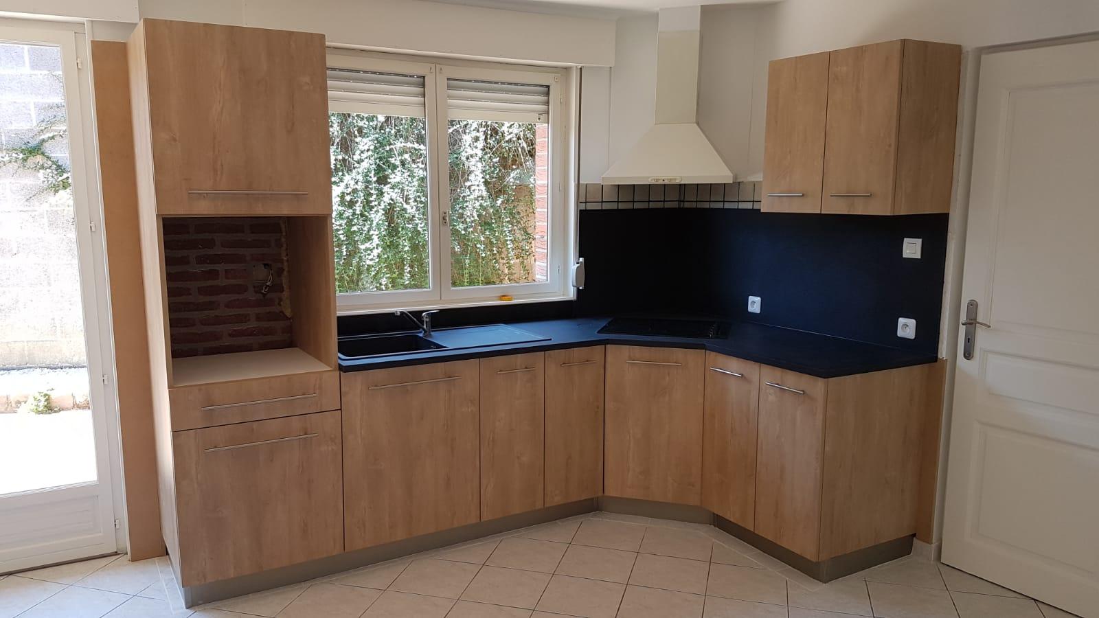 Rénovation d'une cuisine destinée à la location