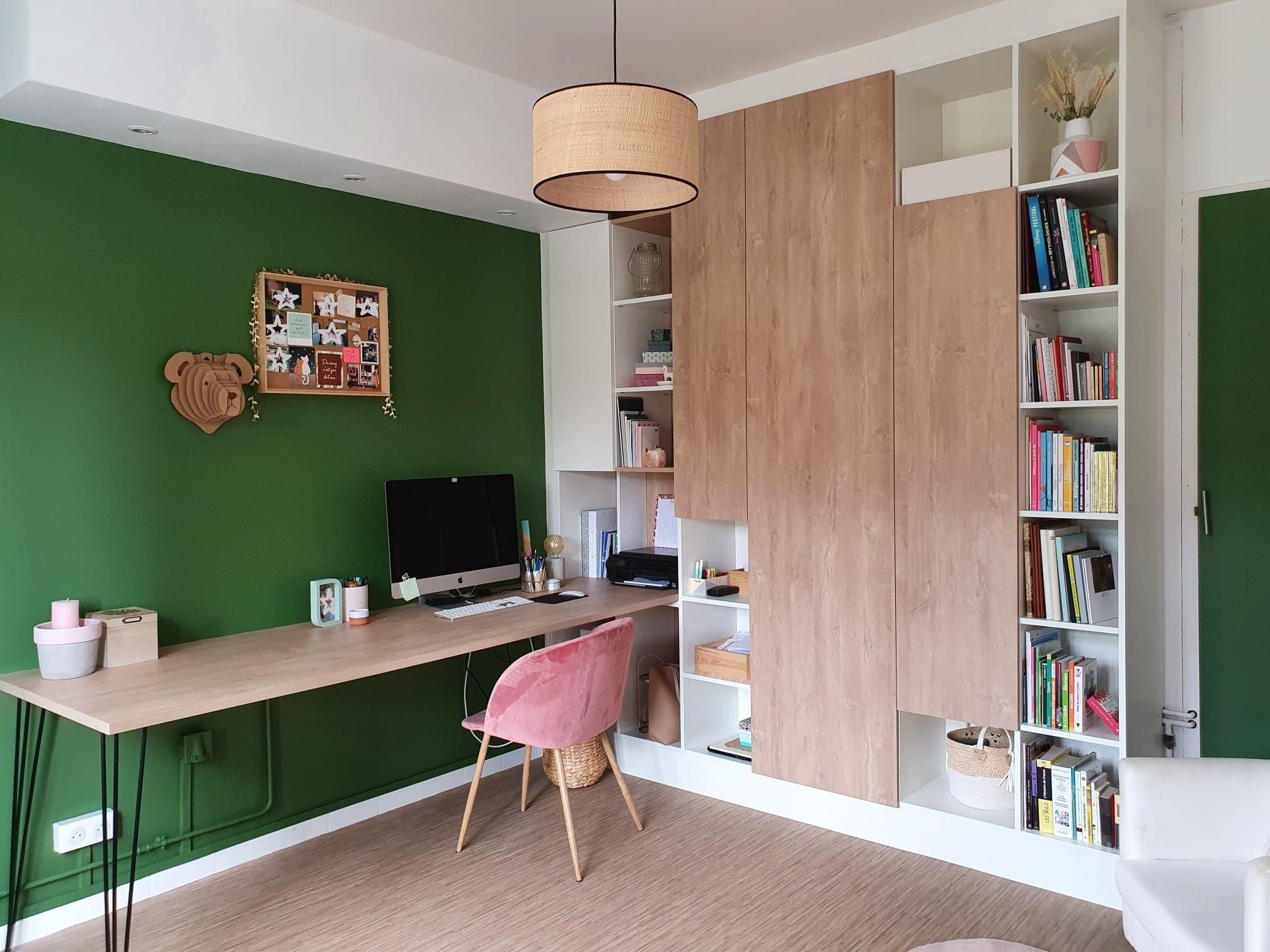 Aménagement d'une pièce en bureau