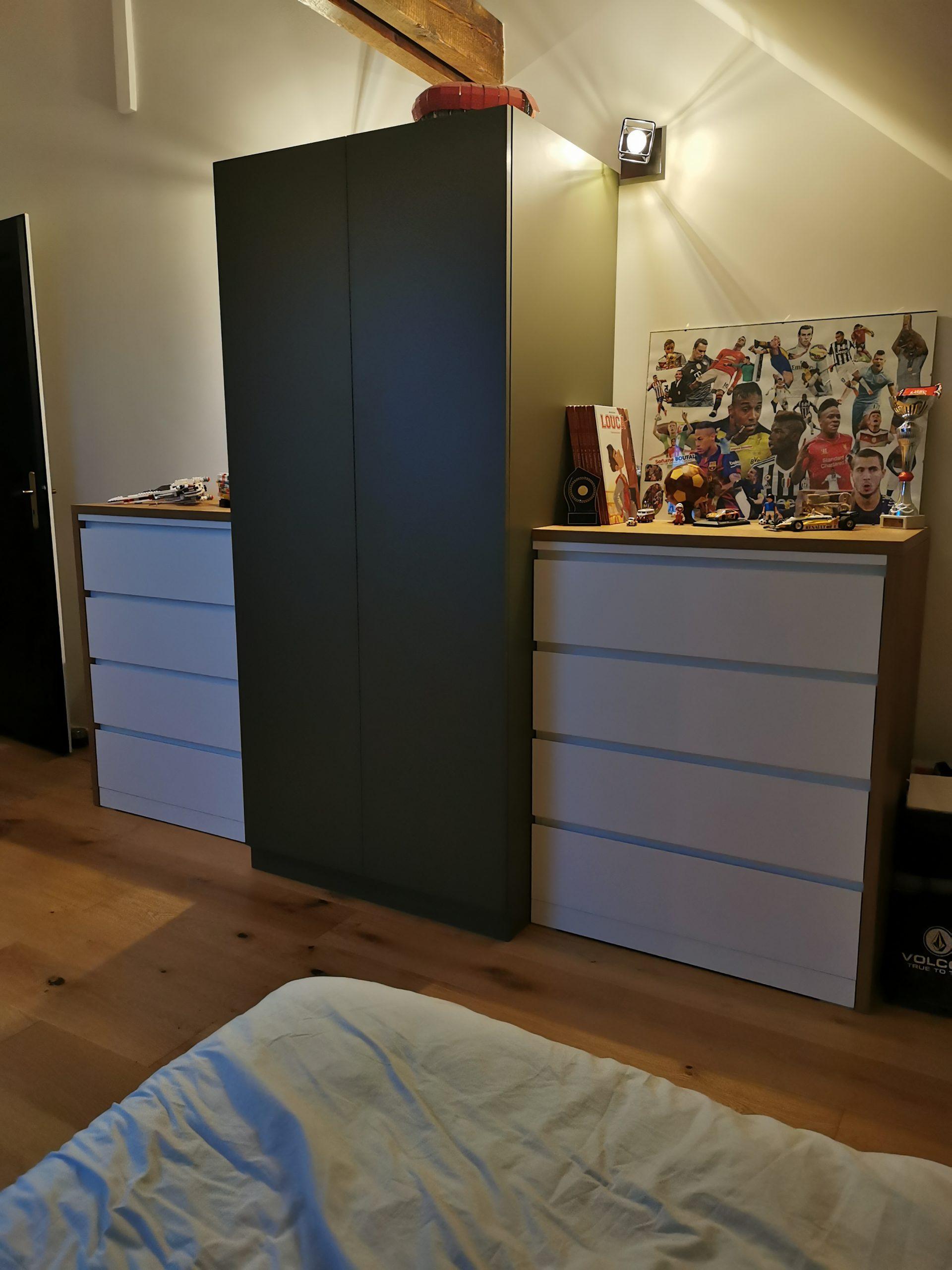 Aménagement d'une chambre d'adolescent