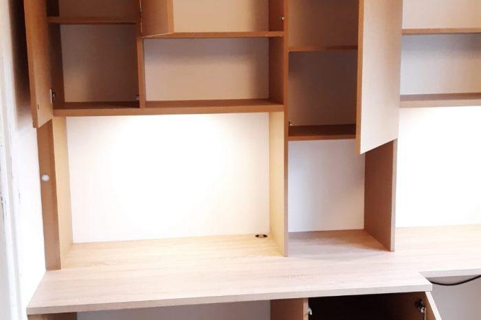 Sur cette dernière photo, on voit la partie gauche de la bibliothèque.